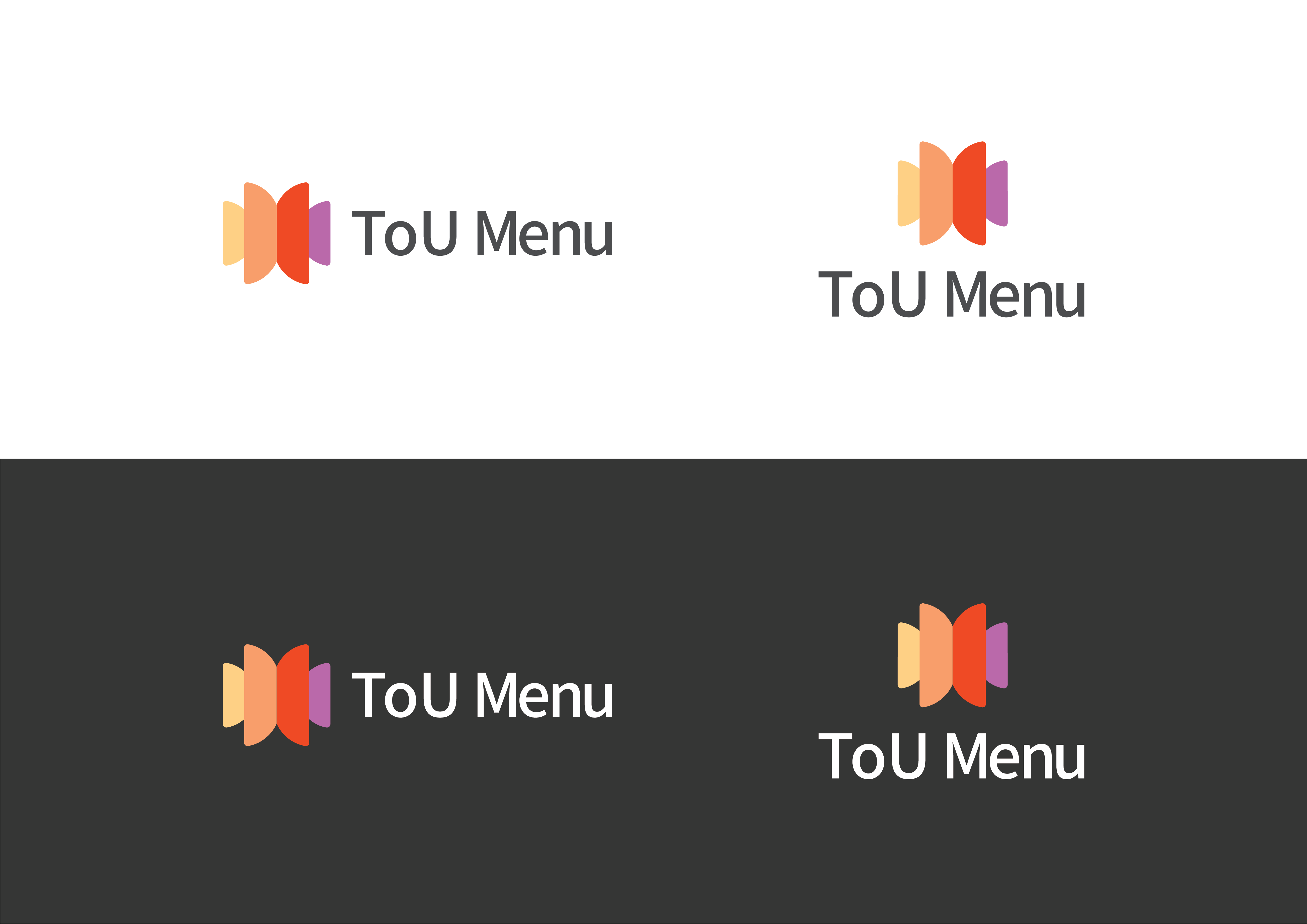 Safe area of ToU Menu Logo