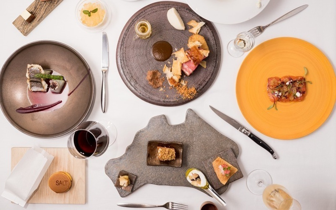Salt by Luke Mangan